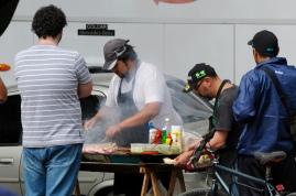 Street-Food-Grillstand