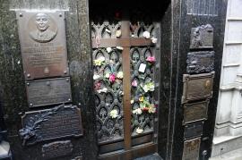 Friedhof La Recoleta - Grab der Evita