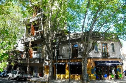 Unsere Unterkunft im Stadtteil Palermo, 4. OG