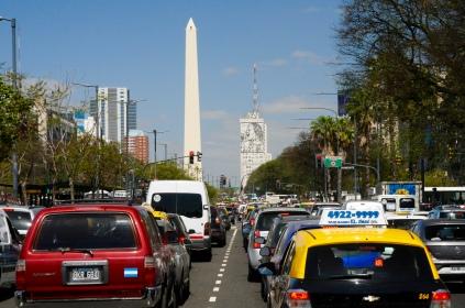 Obelisk und die singende Evita