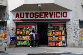 Früher Autowerkstatt, heute Supermarkt