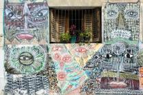 San Telmo - bunte Häuserfassaden überall