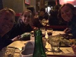 Abendessen im Las Cabras