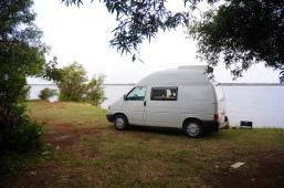 Unser erstes wild camping