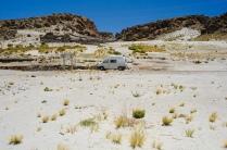 Wüste und Staub