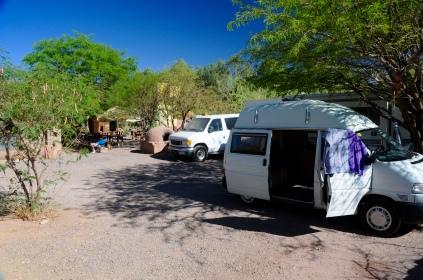 Bei Ursula auf dem Campingplatz...