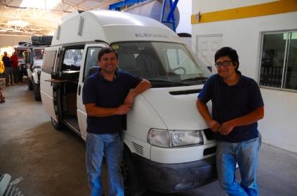 Luis und Nico - die Mecanicos