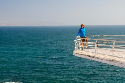 Ein toller Aussichtspunkt auf La Portada