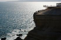 Steile Steilküste...