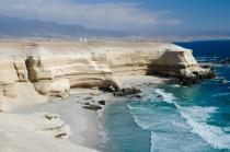 Schöner Strand, leider ohne Zugang