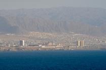 Blick auf Antofagasta