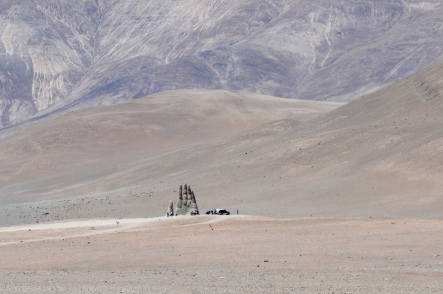 Mitten in der Wüste...