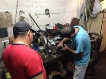 Der Mechanico tut sein Bestes
