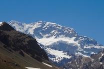 Der Aconcagua ist der höchste Berg des amerikanischen Kontinents...