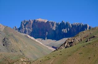 Der Weg vom Pass durch Argentinien ist super!