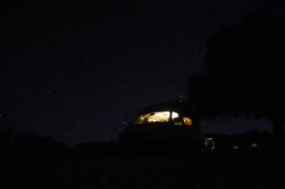 Und wieder eine Nacht unter dem Sternenzelt.