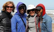Unser Guide Rita (mit weißem Hut) und zwei Amerikanerinnen aus Ohio.