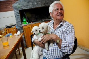 Gast mit Schoßhunden:-)