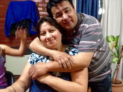 Ruben und seine Frau Roxana