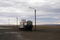 Straßenecke irgendwo in Patagonien
