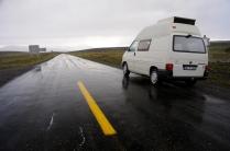 Einer der bislang wenigen Regenmomente in Patagonien