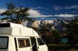 Torres del Paine - Ein toll gelegner Campingplatz