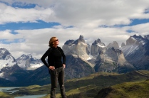 Torres del Paine und stolze Moni