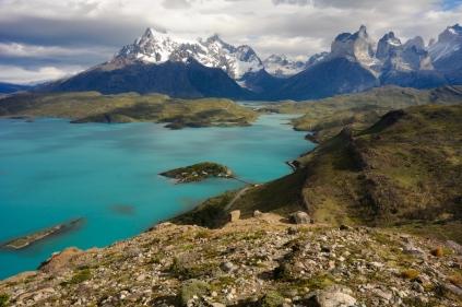 Torres del Paine - das Massiv vom Condor Lookout