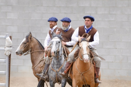 Traditionelle Gaucho-Gruppe 1