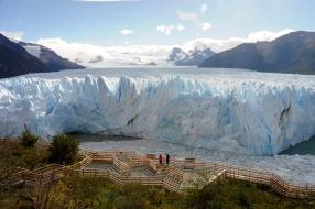 Perito Moreno von weiter oben