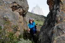 Fitz Roy - Moni vor Berg