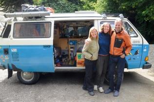 Die Schweizer Claudia und Martin sind schon seit über 3 Jahren in ihrem T3 unterwegs