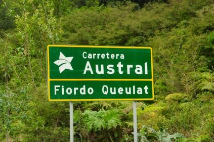 Die wohl schönste Fernstraße Chiles...