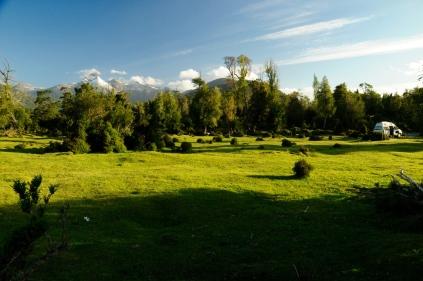 Ehemals Regenwald, heute Weidefläche