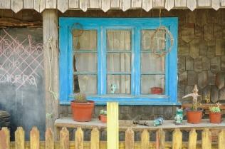Holzhäuser auf Chiloé...