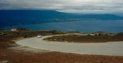 Am Ende der STEILEN(!) Piste auf den Osorno