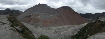 Vulkan Chaiten - unten der ehemalige Krater