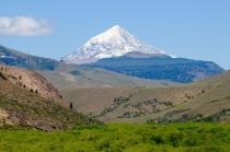 Der Vulkan Lanin ist ein Berg wie aus dem Bilderbuch