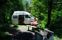 ...und finden den kuscheligen Campground