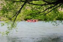 Der Rio Limay ist traumschön - nicht nur zum Raften