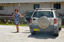 Amy hat uns ihr Auto geliehen!