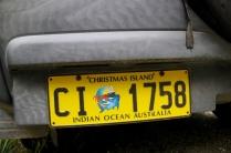 Autokennzeichen von Christmas Island