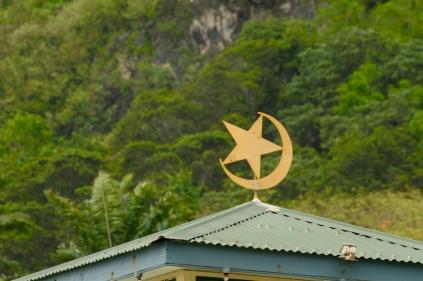 Die Moschee von Christmas Island