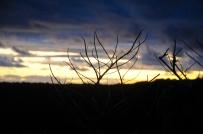 Ebenso der Sonnenuntergang.