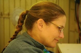 Tanja leitet das crazy-ants Projekt
