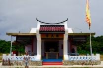 Der chinesische Tempel am South Point.