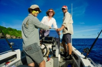 Mit Brendan und Jason haben wir zwei Spezialisten an Bord.