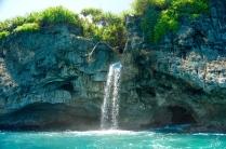 Und ein Wasserfall.