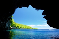 Noch eine Höhle für eine schattige Pause.