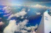 ...und wir sind über dem indischen Ozean.